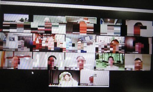 オンライン会議風景